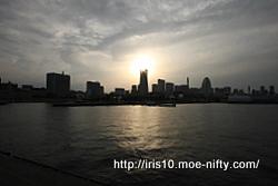 テスト2・大桟橋で日没待ち