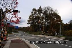 清里駅はもうすぐそこ。